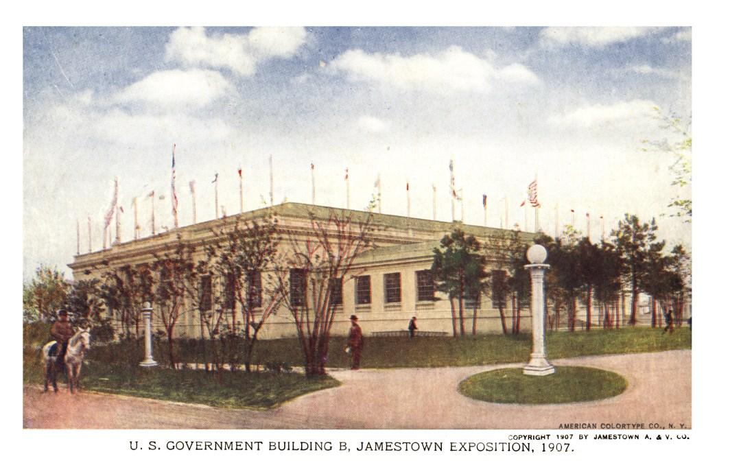 06PCJamestown Exposition00165 - US Government Bldg B copy