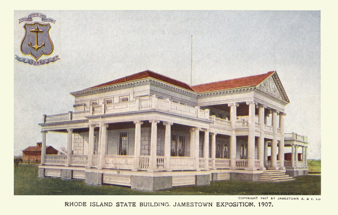 06PCJamestown Exposition00170 - Rhode Island State bldg copy