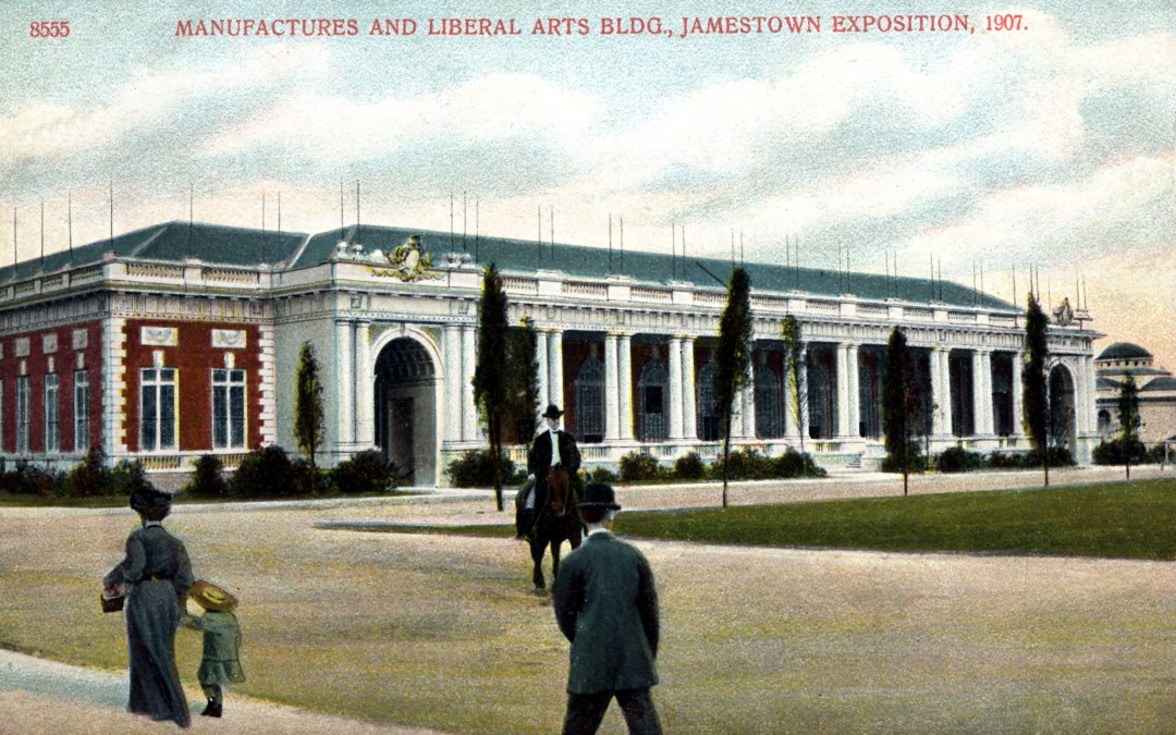 06PCJamestown Exposition00205 - Manufactures and Liberal Arts bldg copy