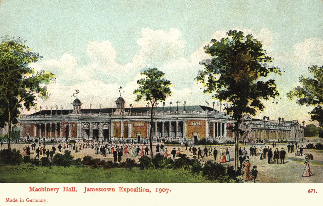 06PCJamestown Exposition00206 - Machinery Hall copy