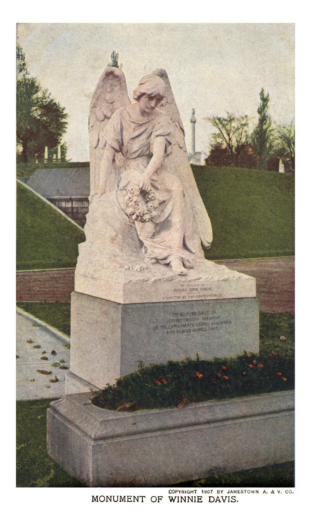 06PCJamestown Exposition00220 - Winnie Davis Monument copy