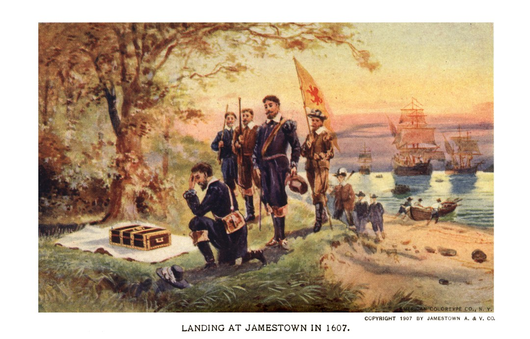 06PCJamestown Exposition00221 - Landing at Jamestown copy