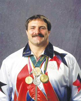 Bruce Baumgartner 2time Olympic Gold Medal Wrestler to Speak at Chautauqua Sports Hall of