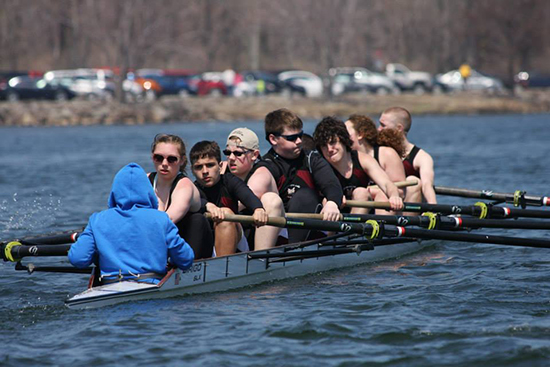 CLRA High School 8+ at the  Mercyhurst Prep Invitational Erie, PA.