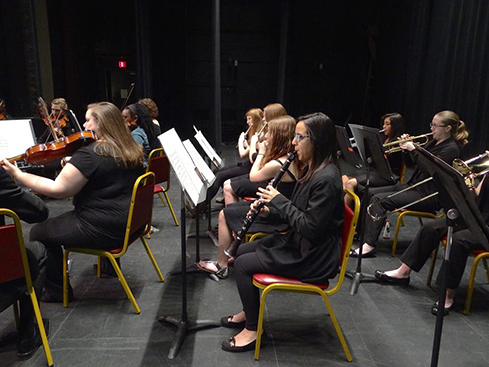 The Chautauqua Regional Youth Symphony, sponsor of three orchestras for young musicians, will soon close the fund drive for its 2015-2016 season. Pictured here is the Youth Symphony performing its Spring Gala Concert last year.
