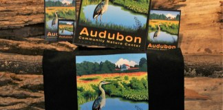 Rochester, N.Y., artist Laura Wilder was recently commissioned to create a unique artistic image for Audubon Community Nature Center. As represented in the foreground, the Blue Heron has long been a symbol of Audubon and is the inspiration behind the naming of the Nature Center's own Blue Heron Gift Shop that now carries items featuring this new design.