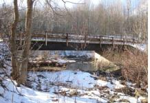 Pictured above, the County Route 18 Bridge in the Town of North Harmony