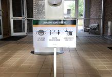 JCC Entryway Signage