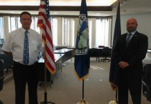 From left, Thomas Narraway, Chautauqua County Probation Director; and PJ Wendel, Chautauqua County Executive.