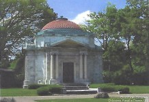 Hayden Mausoleum. Burial place of Lillian Hayden Fenton.