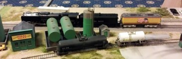 BR HO Modular Group With UP Tender - NMRA 2014 6