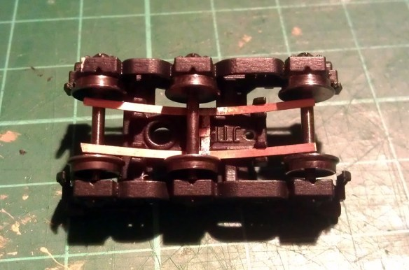 Dummy Chassis Circuit Board Mount N Scale 1160 In White Strong