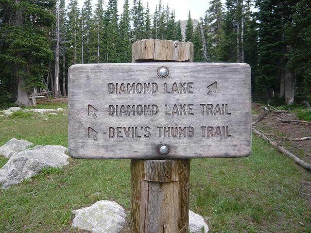 Diamond Lake . Nederland . Colorado