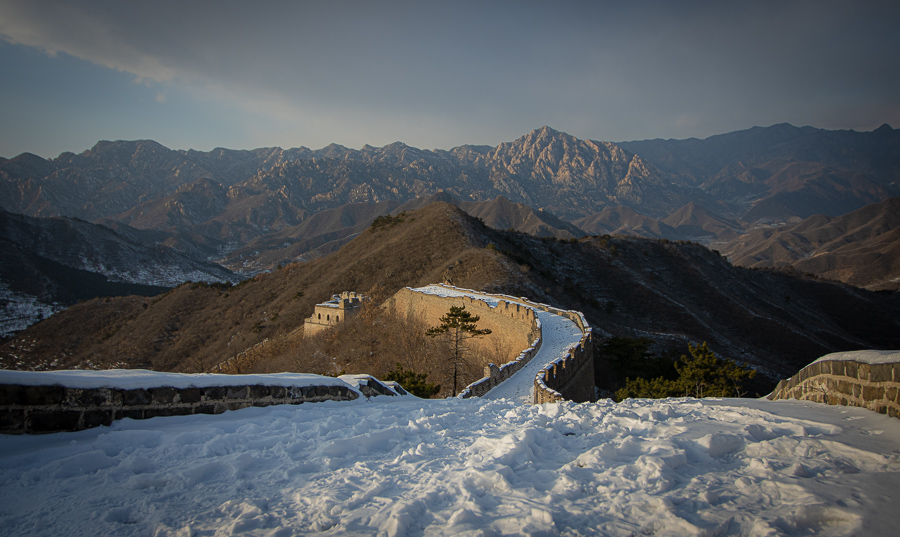 Great Wall of China . Beijing