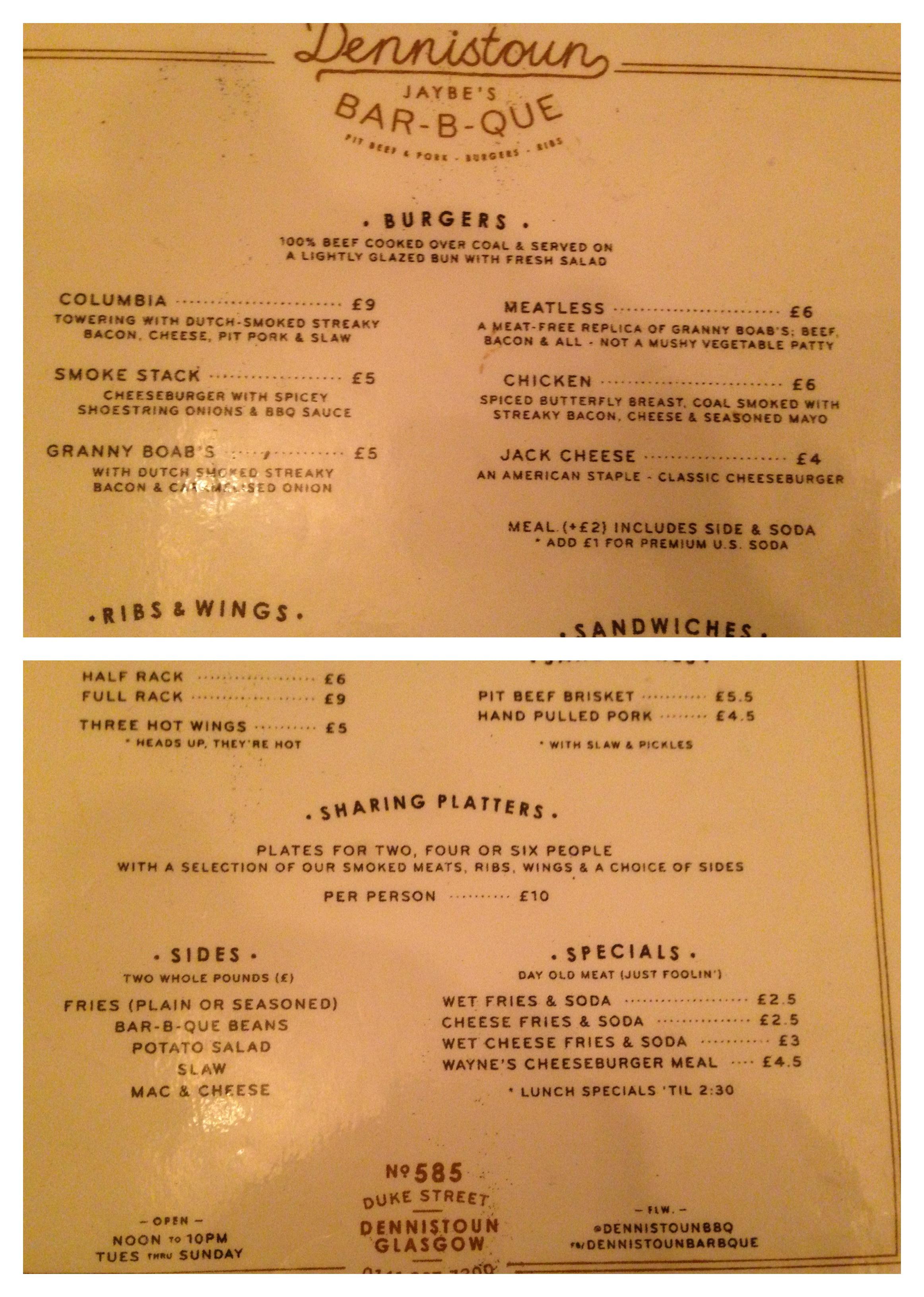 kitchen pictures for walls barstools the columbia burger – dennistoun bar-b-que james vs.