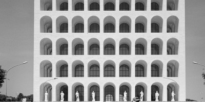 A building from Rome's EUR area, photgraphed by John Kippin.