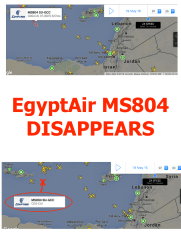 EgyptAir flight MS804 other aircraft 20