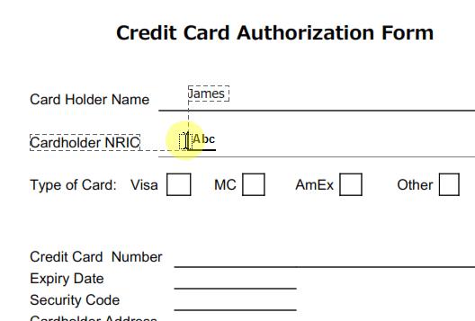 add signature to pdf document