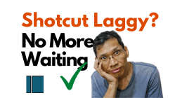 Shotcut Reduce Lag proxy files thumbnail