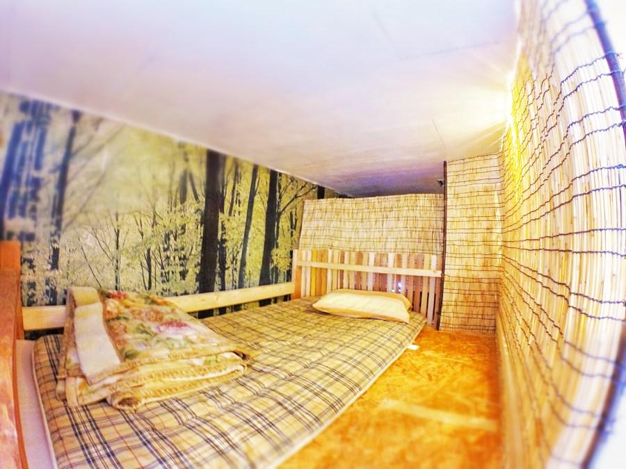 101ドミトリーのベッド(上段)
