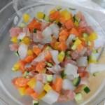 キラキラ海鮮丼を作ったよ!!(おつまみ付)