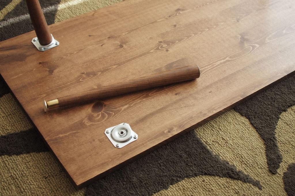Diy Midcentury Modern Coffee Table  Jamie Bartlett Design
