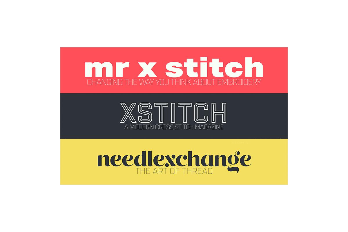 Mr X Stitch | XStitch | needlexchange