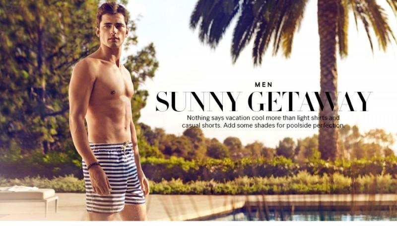 sunnny1 h&m sunny getaway s s14 mens swimwear lookbook allthingsmenswear,Hm Swimwear Mens