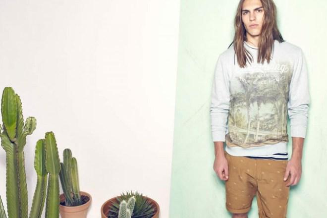 Pull & Bear 'March' S/S14 Menswear Lookbook Update
