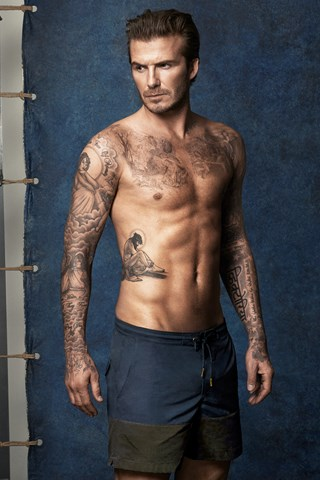 David Beckham Swimwear Campaign For H&M David Beckham Naked Underwear Briefs Swimwear Collection Balls