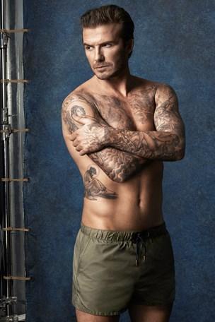 David Beckham Swimwear Campaign For H&M David Beckham Naked Swimwear Briefs Underwear Trunks Speedos