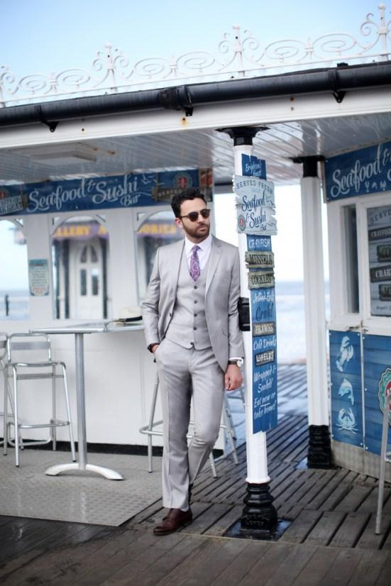 Sartorial 7 X River Island S/S14 Menswear Lookbook tailoring suiting blazer jacket
