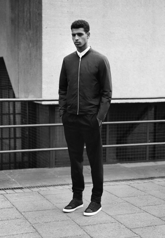 COS A/W14 Menswear Campaign bomber jacket coat outerwear