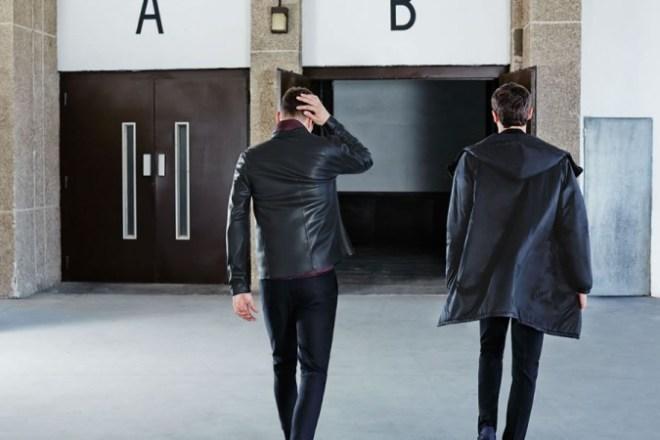 Zara A/W14 Menswear Lookbook Update menswear mens leather jacket hooded biker jacket menswear mensfashion style fashion