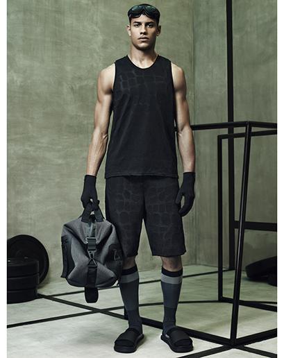 Alexander Wang For H&M Full Menswear Lookbook #AlexanderWangxHM menswear lookbook fashion mensfashion style alexander wang allblack all black everything