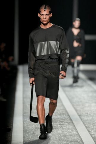 Alexander Wang For H&M Menswear Collection #AlexanderWangXHM black leather collection all black exclusive