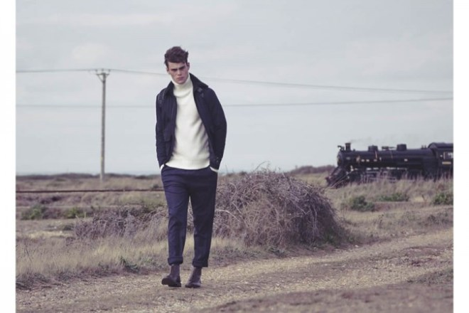 Reiss A/W14 'Cover Story' Menswear Lookbook. menswear mensfashion lookbook collection style fashion outerwear  knitwear rollneck jumper sweater turtle neck