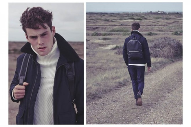 Reiss A/W14 'Cover Story' Menswear Lookbook. menswear mensfashion outerwear coats jackets knitwear accessories