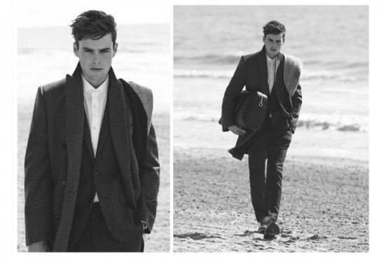 Reiss A/W14 'Cover Story' Menswear Lookbook. menswear mensfashion lookbook collection style fashion tailoring suiting blazer lookbook male model