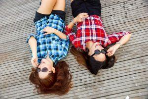 two women in sunglasses