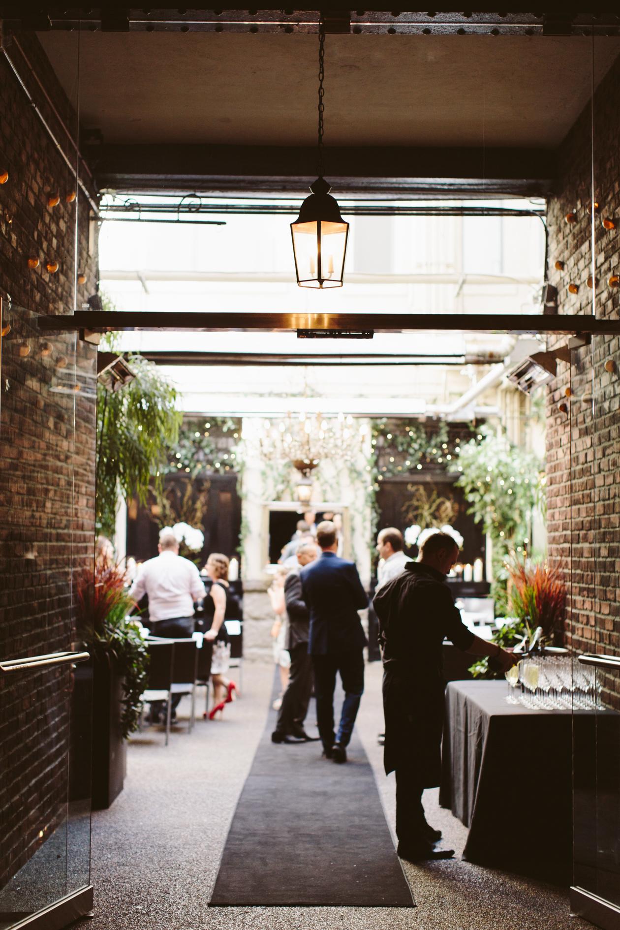 Brix And Mortar Restaurant Wedding Vancouver Wedding