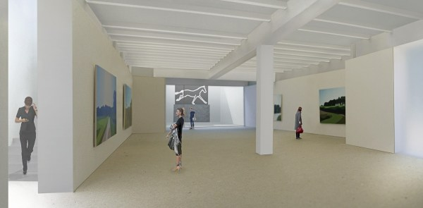Gallery Ceiling Height