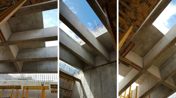 Concrete Roof Construction