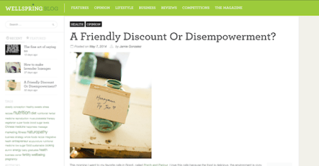 Friendly Discount OR Disempowerment