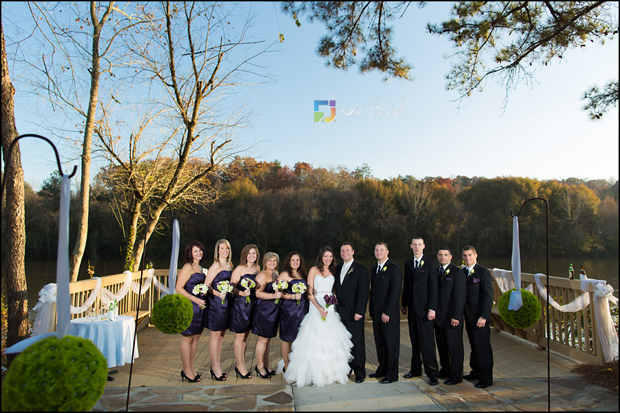 Ashley and Kenneth  Roswell River Landing wedding  Jamie Howell
