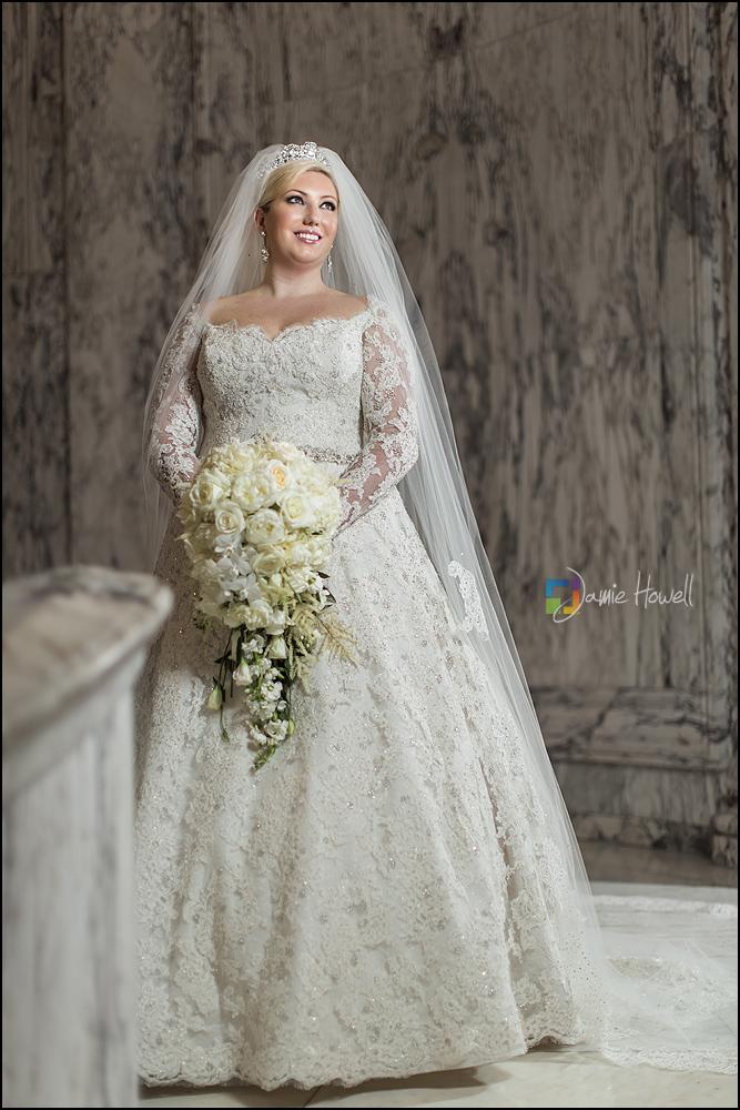 Beccas Venetian Room bridal session  Jamie Howell