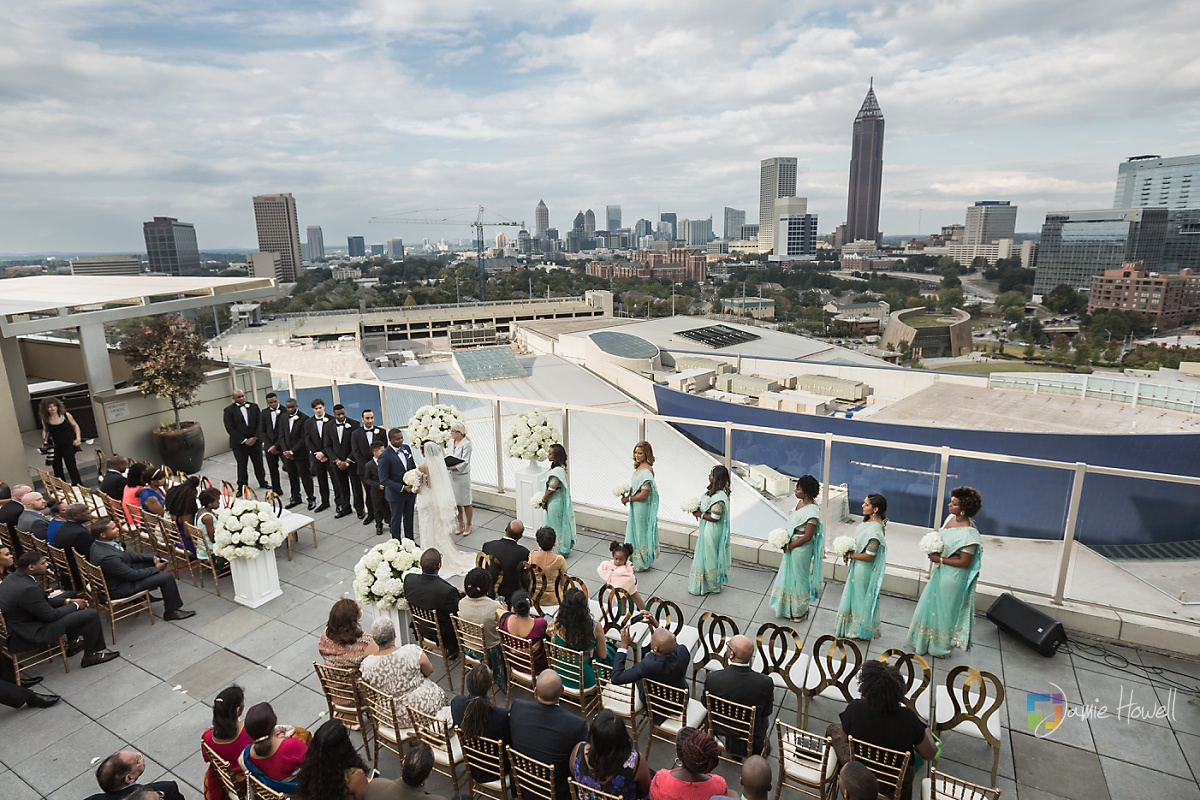 Karl  Ashley  Ventanas Atlanta fusion wedding  Jamie Howell