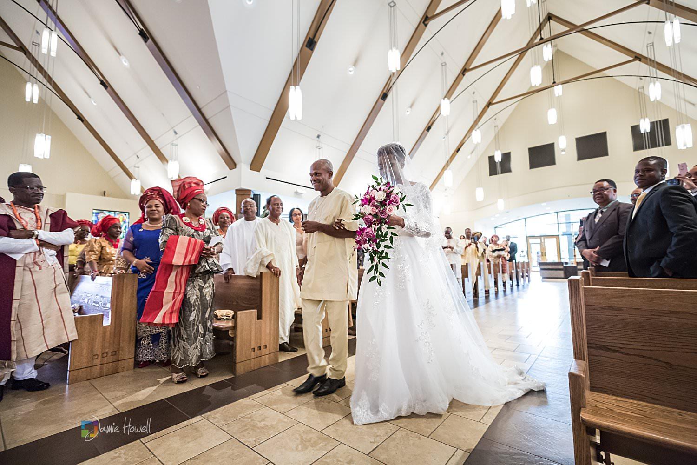 Chiomaka  Joseph  Atlanta Nigerian Catholic wedding