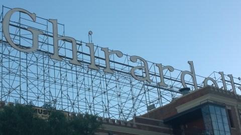 Ghirardelli sign