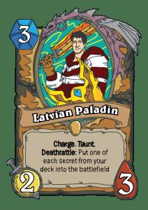 Latvian Paladin